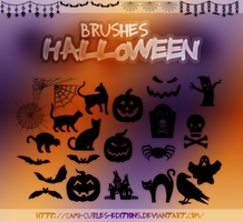 +BRUSHES: Halloween -- by CAMI-CURLES-EDITIONS