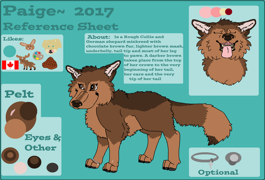 Paige 2017 Reference Sheet by Meskridge110