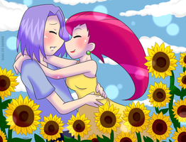Rocketshipping: Sunflowers by Abie05