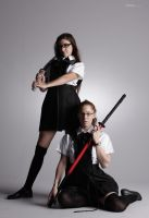 Bad Schoolgirls - 10 by mjranum-stock