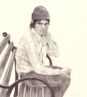 Elliott Smith by weezie