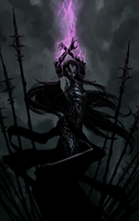 Elder Witch Morgan by Banished-shadow