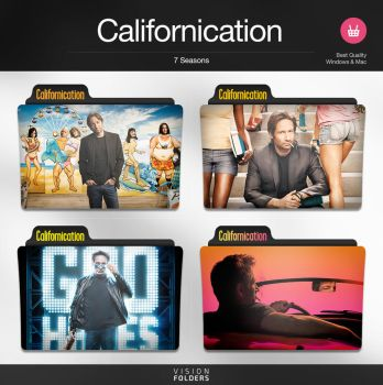 Californication TV Folders by VisionFolders