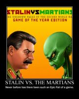 Stalin vs. The Martians by paxtofettel