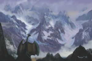 Guardian of the pass by Hagge