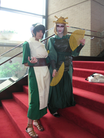 CTcon '10: Toph and Suki by TEi-Has-Pants