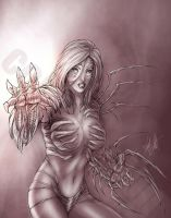 witchblade commission by vic55b