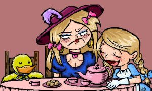 Tea Party :Lil Axl Ally: by TerribleToadQueen