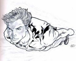 Smallville Tom Welling by jeffzombie37