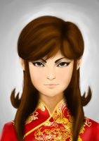 Chinese Girl by SiCoklat