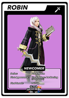 SSB4 Robin (Female) Card by GameAndWill