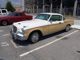 1956 Studebaker Golden Hawk 02 by Skoshi8