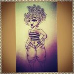 Sup Chika pin up by sisterz1679