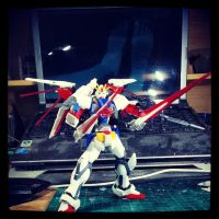 Gundam Kitbash F91 - Took This Morning by s00nk1a