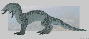 Adoptable: Eel Dragon by xXNuclearXx
