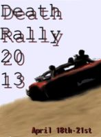 SCAVENGE Death Rally Poster by daStig177