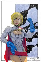 Power Girl by Andre-VAZ