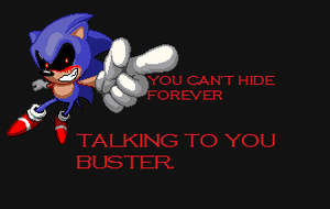 Another Sonic.EXE Art. by MultiMugen