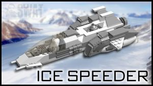 Ice Speeder by SWAT-Strachan