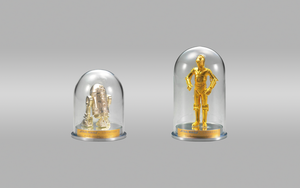 Star Wars 35th Anniversary R2-D2 and C-3PO Statues by Manshonyagger
