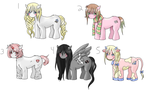 Free Pony Adoptables (Closed) by Ramen11111