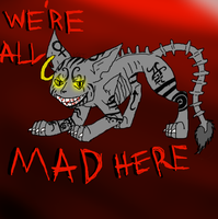 Alice Madness Returns Cheshire Cat by Chaotic--Kat
