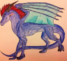 Me As A Dragon by queenfirelily17
