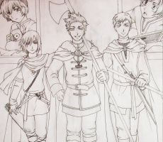 APH Viking doodle PREVIEW by CaeruleaLacus