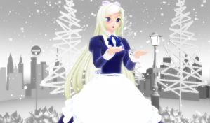 .: '' It's ... snowing? '' :. by EpiclyAwesomePrussia