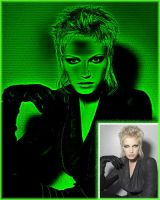 My Matrix effect action by noema-13
