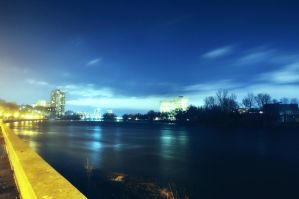 River Night by RavenGraphics