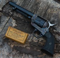 An American Staple : Colt Single Action Army in 45 by spaxspore