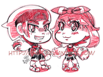 Brendan And May Chibis by GH07