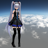 MMD Hagane Miku - WIP - Model Preview by Trackdancer