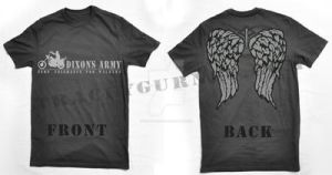 Dixon's Army - Winged Tee Shirt by Ryleh-Mason