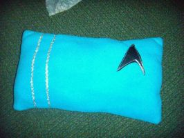 Spock Pillow by youliedanyway