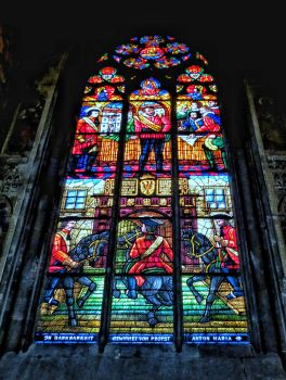 Stained glass . Paris... by DemonSD