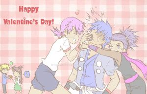 PKMN: Happy Valentine's D... Wait!! What?? by Mikan-chan