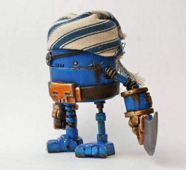 RUSTY ROBOT ONE DAY SALE by SpaceCowSmith