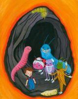 James and The Giant Peach by Zephalynne
