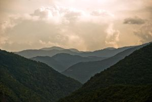 Rodopi mountains by FinTaRa