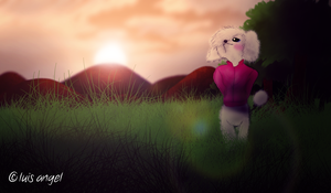 Janet the Poodle: I Love Dawn by Hvan