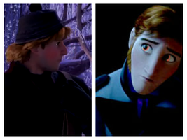 Hans x Kristoff (5 years after Frozen) by Fungyguy