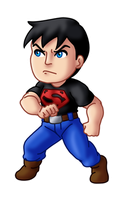 Chibi Superboy by TwinEnigma