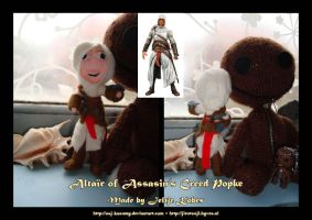 Altair Assasins Creed Popke by LadyRafira