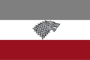 Kingdom of The North Flag by Claudius42