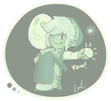 TeLink: Minty Cupcake by xMurmaid