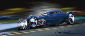 1940 Ford Road Burner by GaryCampesi