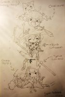 My Story characters by Cardcaptor-Sophia