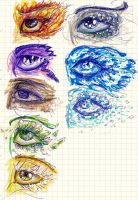 eyes by MikiMonster